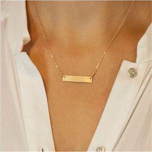 Dainty Mini Bar Necklace